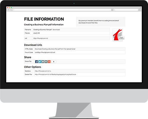 Your uploaded file information